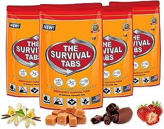 生存 tabS 8-day 96tabS 应急食品 ration survival mres 食品替换件适用于户外活动灾难准备 gluten 自由出品非转*25年 shelf LIFE 长期–混合口味
