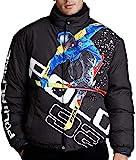 Ralph Lauren 保罗拉夫劳伦 男式 高山滑雪滑雪羽绒服 黑色