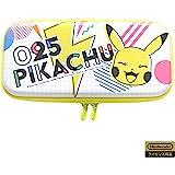 Hori 【任天堂授权产品】混合便携收纳盒 适用于任天堂 Switch 皮卡丘 - POP