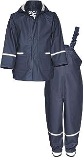 Playshoes 婴儿男孩雨衣睡衣,雨衣,雨衣套装基本款