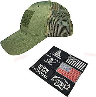 Uphily *补丁帽,操作员帽,战术军帽 男式