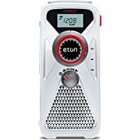Eton 手动涡轮 AM / FM / NOAA 天气收音机 带有USB智能手机充电器和LED手电筒