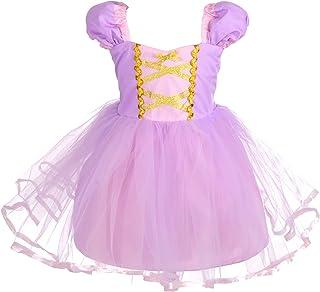 Dressy Daisy 公主白雪公主裙灰姑娘连衣裙长发公主裙美人鱼连衣裙服装适合女婴