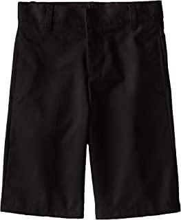 French Toast 男童基本款无褶短裤,带可调节腰带