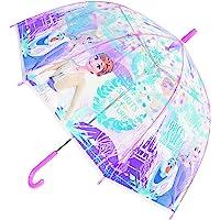 喷枪 角色伞 冰雪奇缘2 儿童 塑料伞 紫色 55cm 32425