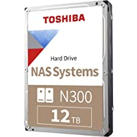 "Toshiba N300 NAS 3.5"" 内部硬盘 - SATA 6 Gb/s 7200 RPM 128MBHDWG2…"