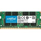 Crucial 美光 8GB 单个 DDR4 2666 MT/s (PC4-21300) SR X8 SODIMM 26…