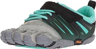 Vibram 女式 V 形拖尾灰色/黑色/紫红色交叉训练鞋