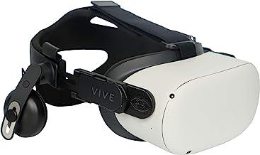 DeadEyeVR 豪华音频带适配器套件,适用于 Oculus Quest 2 DAS FrankenQuest (黑色)