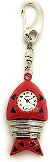 夹式鱼钥匙扣手表
