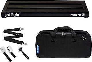 Pedaltrain PT-M20-SC Metro 20 带软壳 3 个导轨 - 20 x 8 英寸(约 50.8 x 20.3 厘米)