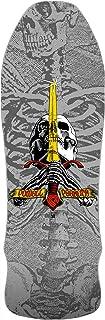 Powell Peralta 滑板甲板极客骷髅剑银色重新发行