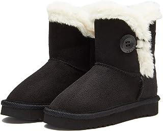 Weestep 幼儿/女童保暖冬季平底雪地靴