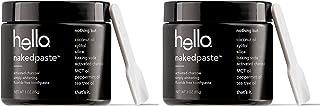 Hello Oral Care 活性炭无氟 Nakedpaste 胶囊,3.0 盎司,2 支装