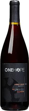 OneHope 一个希望 加州黑皮诺红葡萄酒 750ml(亚马逊进口直采 美国品牌)