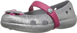 Crocs Keeley Glitter Spring PS 玛丽珍平底鞋(幼儿/小童)