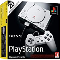 PlayStation One Classic 第一代 经典 复刻版 (含2个手柄,HDMI和USB连接)