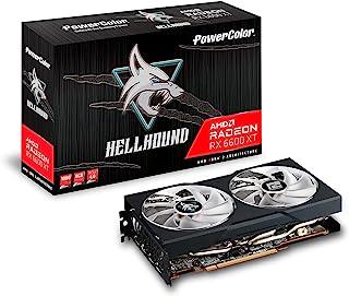 [Power Color 撼讯] 搭载AMD Radeon RX6600XT 显卡 GDDR6 8GB Hellhound [AXRX 6600XT 8GBD6-3DHL/OC]