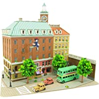 SANKEI 迷你纸模型 吉卜力工作室系列 魔女宅急便 コリコの町 1/220スケール ペーパークラフト MK07-16