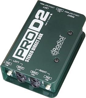 Radial Engineering R800 1102 ProD2 2 通道被动立体声直盒,1 年免费延长保修