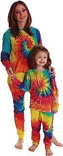 Just Love 扎染 Mommy and Me 女士和儿童保暖套装