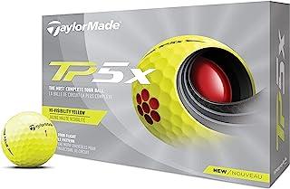 TaylorMade 中性款 TP5X 黄色高尔夫球,均码