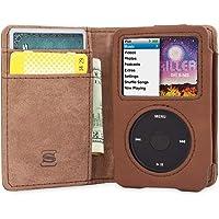 Snugg iPod 经典翻盖保护套 & 适用于 iPod Classic 棕色 iPod Classic