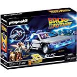 Playmobil 摩比世界 70317 回到未来©DeLorean玩具