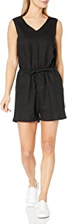 Amazon Essentials 女式无袖亚麻连衫裤