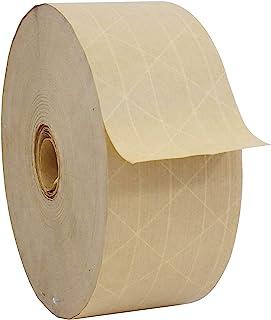WOD WATWTH 环保加固橡皮纸胶带 - 7.62 cm x 124.57 cm 重型水活胶带非常适合包装、运输、密封 1-Roll