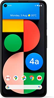 Google Pixel 4a with 5G Android Mobile Phone- 128 GB Black