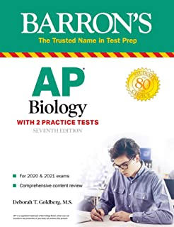 AP Biology: With 2 Practice Tests (Barron's Test Prep) (English Edition)
