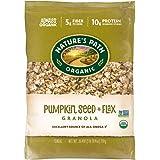 Nature's Path 亚麻 Plus 南瓜燕麦片,健康,有机,26.4 盎司生态 Pac(6 件装)