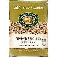 Nature's Path Flax Plus Pumpkin Granola, Healthy, Organic, 2…