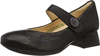 Think! Delicia_3-000287 女士无铬鞣革,可更换鞋垫高跟鞋