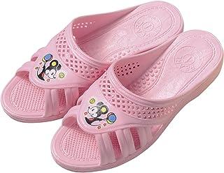 巴士、厕所、阳台用凉鞋 儿童用 粉色 16cm -