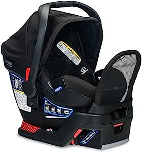 Britax 婴儿汽车*座椅底座带防反弹杆和 SafeCenter 锁扣安装 - 兼容所有 Britax B-Safe 35 Circa