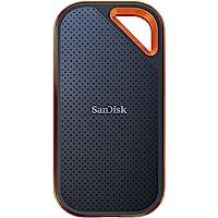 SanDisk 闪迪 Extreme PRO NVMe SSD 2 TB(便携式 NVMe 固态硬盘,USB-C 高达2…