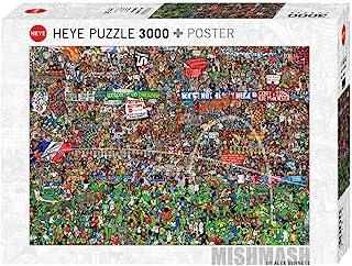Heye 德国进口成人拼图3000片 足球的历史时刻 29205