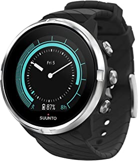 Suunto 9 Unisex Multisport GPS Watch, 25+Hours Battery Life, Waterproof to 100 m, Wrist Heart Rate Monitor, Colour Display...