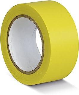 DMD Direct 12.210.102 PVC 地板标记胶带,黄色,50mm x 33m