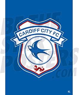 Be The Star Posters 卡迪夫市 FC 2020/21 Club Crest A2 足球海报/印刷/墙艺术 - 官方*产品 - 提供 A3 和 A2 (A2)