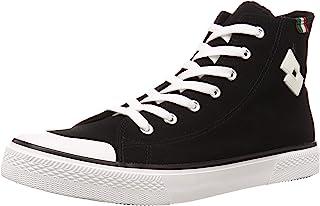 [lotto] 运动鞋 高帮 鞋 鞋 男士 经典 简约 LTS-003M 高帮运动鞋
