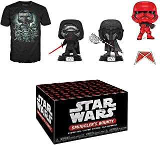Funko Star Wars 《偷渡者之宝》订阅盒,黑暗力量,2019 年 10 月,中号 T 恤