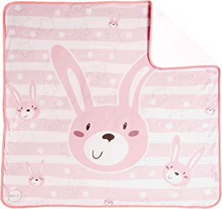 COELLO 印花婴儿襁褓(80 x 80 厘米) 粉红色 Punto algodón
