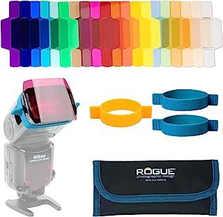 ExpoImaging ROGUEGELS-U 无管理系统摄影设计 无管理系统通用照明过滤器套件ROGUEGELS-U 组合过滤器套件 Rogue Flash Gels 20 种颜色
