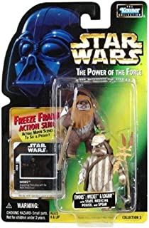 Star Wars:Force 的力量冷冻框 > Ewoks:Wicket and Logray 可动公仔