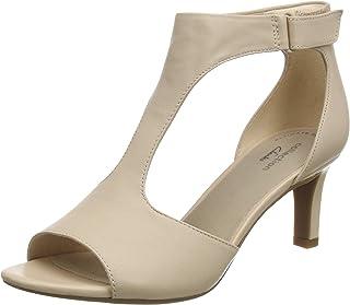 Clarks 女士 Alice Flame T-Bar 高跟鞋