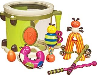 Parents Magazine Bee Bop 乐队 Play & Learn 鼓和乐器