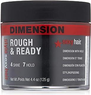 Sexy Hair Sysh Rough and Ready Dimension 卷发带固定,4.4 盎司